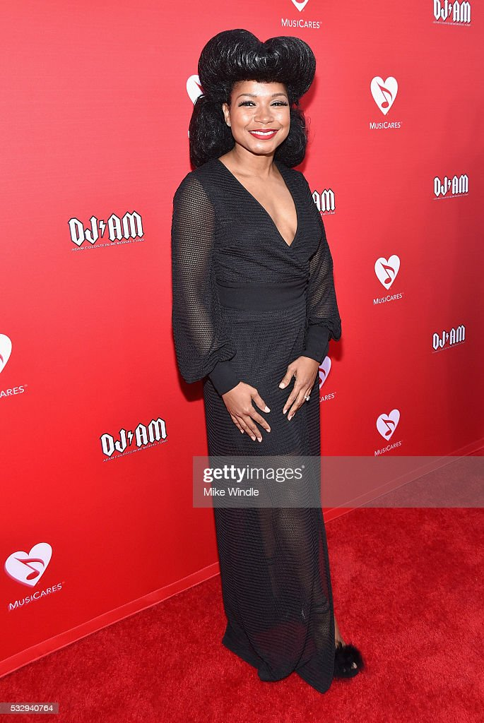 Shani James attends the 12th Annual MusiCares MAP Fund Benefit Concert Honoring Smokey Robinson at The Novo by Microsoft on May 19, 2016 in Los Angeles, California.