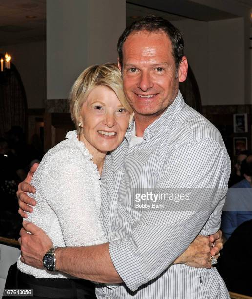 Shani Wallis and Mark Lester from Oliverattends the 2013 Chiller Theatre Expo at Sheraton Parsippany Hotel on April 26 2013 in Parsippany New Jersey