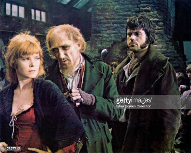 Shani Wallis British actress Ron Moody British actor and Oliver Reed British actor in a publicity still issued for the musical film 'Oliver' 1968 The...