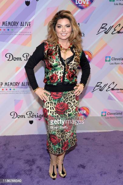Shania Twain attends the 23rd annual Keep Memory Alive 'Power of Love Gala' benefit for the Cleveland Clinic Lou Ruvo Center for Brain Health at MGM...