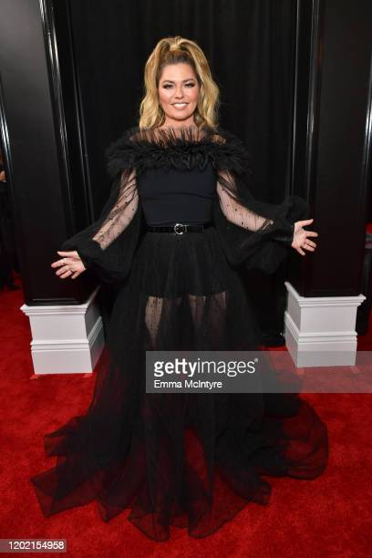Shania Twain attends the 62nd Annual GRAMMY Awards at STAPLES Center on January 26, 2020 in Los Angeles, California.