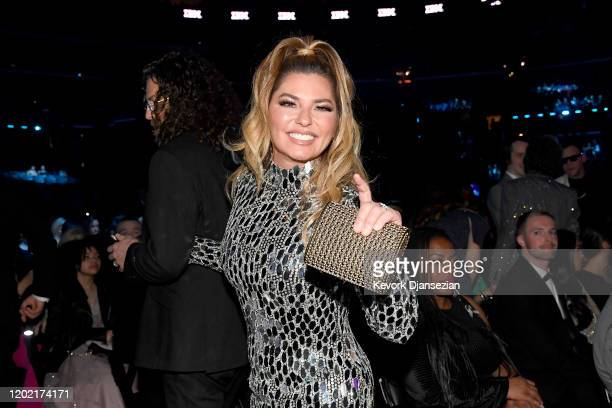 Shania Twain attends the 62nd Annual GRAMMY Awards at Staples Center on January 26 2020 in Los Angeles California