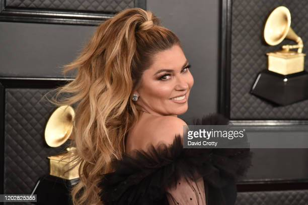 Shania Twain attends the 62nd Annual Grammy Awards at Staples Center on January 26, 2020 in Los Angeles, CA.