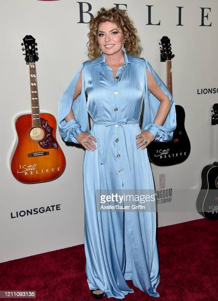 "Shania Twain attends the premiere of Lionsgate's ""I Still Believe"" at ArcLight Hollywood on March 07, 2020 in Hollywood, California."