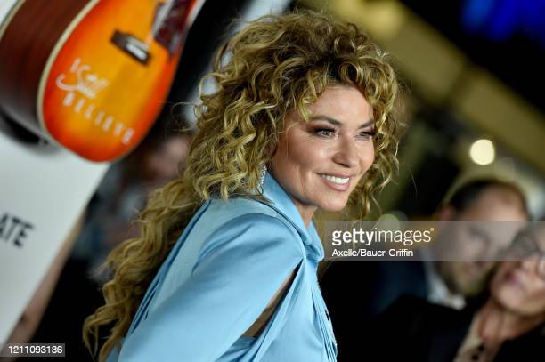 Shania Twain attends the premiere of Lionsgate's I Still Believe at ArcLight Hollywood on March 07 2020 in Hollywood California