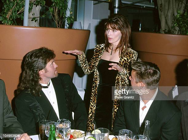 Shania Twain Billy Ray Cyrus during The 34th Annual Academy of Country Music Awards After Party Hosted By Mecury Records at Le Mondrian Hotel in Los...