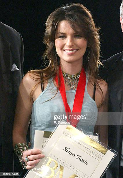 Shania Twain during 52nd Annual BMI Country Awards - Show at BMI in Nashville, Tennessee, United States.