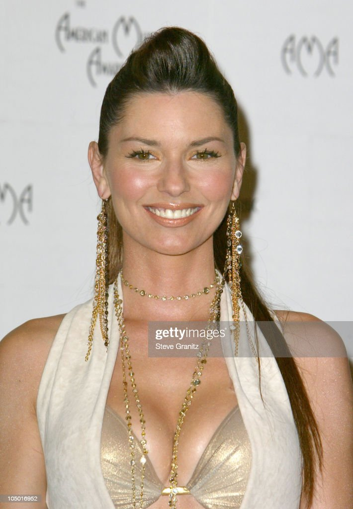 Shania Twain during The 30th Annual American Music Awards - Press Room at Shrine Auditorium in Los Angeles, California, United States.