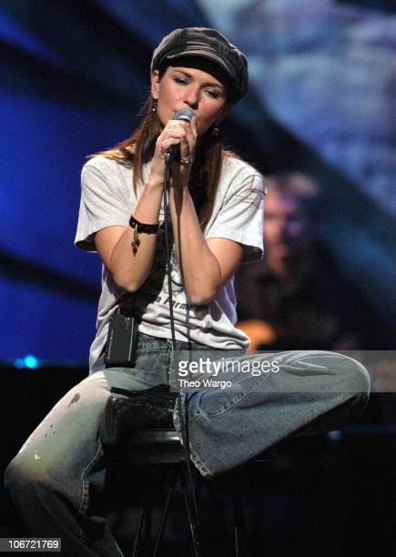 Shania Twain during 'Willie Nelson and Friends Live and Kickin'' Premieres on USA Network May 26 2003 Show at Beacon Theatre in New York City New...