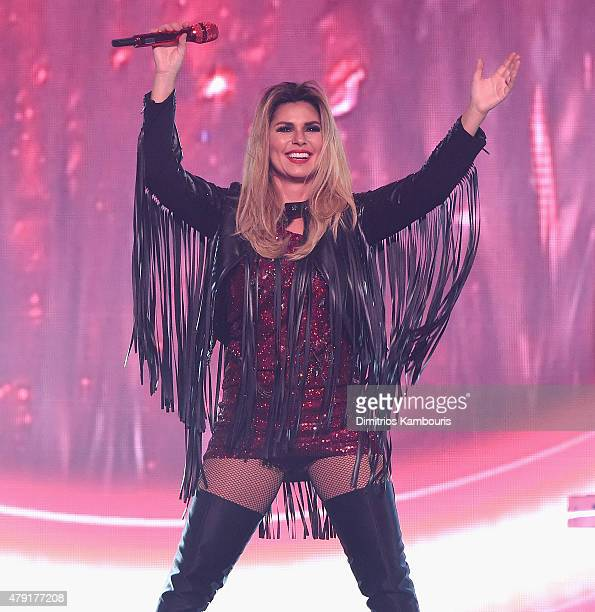 Shania Twain performs at Nassau Coliseum on July 1 2015 in Uniondale New York
