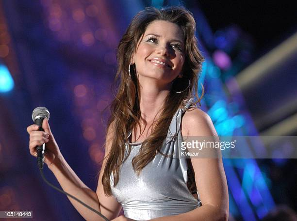 """Shania Twain performs """"Forever and for Always"""" during 38th Annual Academy of Country Music Awards - Show at Mandalay Bay Event Center in Las Vegas,..."""