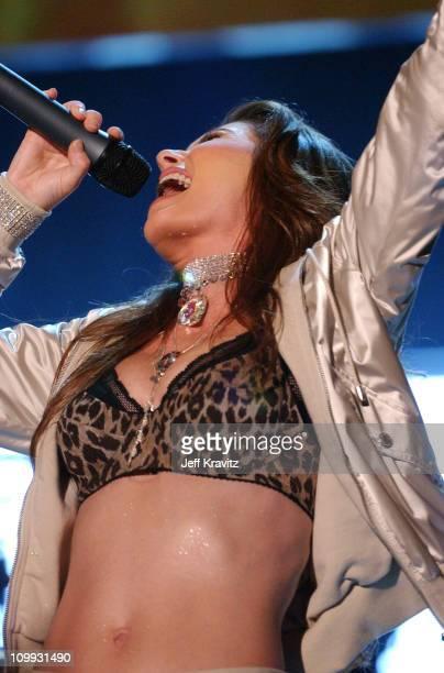 Shania Twain performs I'm Gonna Getcha Good during the VH1 Big In '03 airing November 30 2003