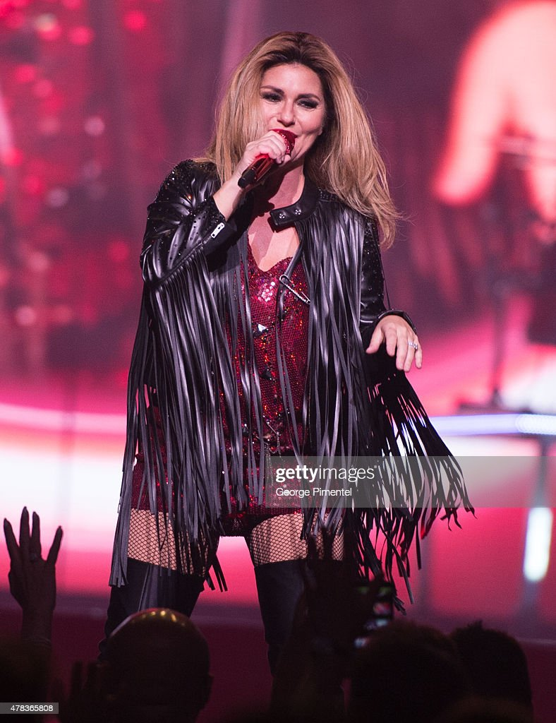 Shania Twain performs in Concert for her 'Rock This Country' Tour at Air Canada Centre on June 24, 2015 in Toronto, Canada.