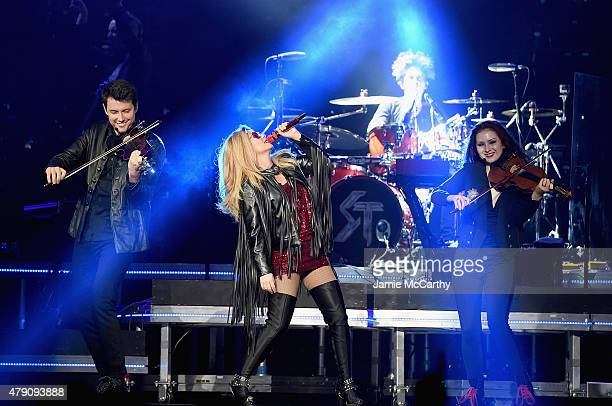 Shania Twain performs onstage at Madison Square Garden on June 30 2015 in New York City