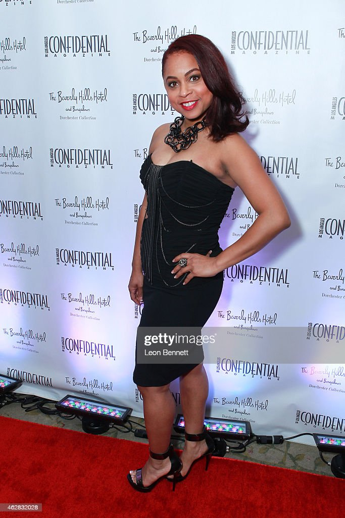 Shania Wright attended the Los Angeles Confidential Grammy Weekend Kickoff Party at Beverly Hills Hotel on February 5, 2015 in Beverly Hills, California.