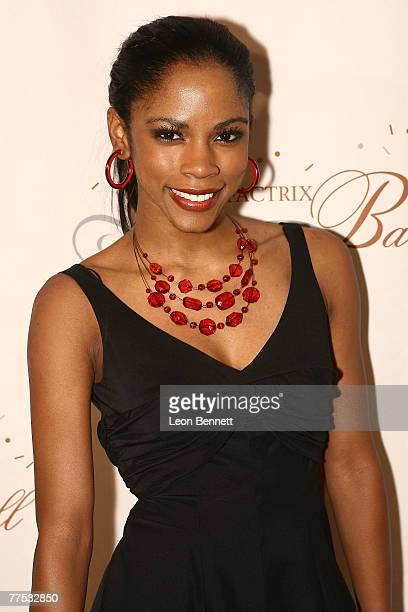 Shanica Knowles attends the Grand Masquerade Benefactrix Ball at the Beverly Hills Hotel on October 26 2007 in Beverly Hills California