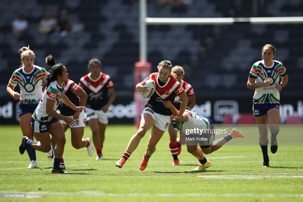 NRLW Rd 2 - Warriors v Roosters : News Photo