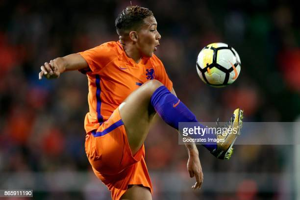 Shanice van de Sanden of Holland Women during the World Cup Qualifier Women match between Holland v Norway at the Noordlease stadium on October 24...