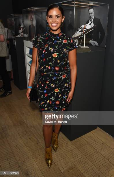 Shanie Ryan attends adidas 'Prouder' A Fat Tony Project in aid of the Albert Kennedy Trust supporting LGBT youth at Heni Gallery Soho on July 3 2018...