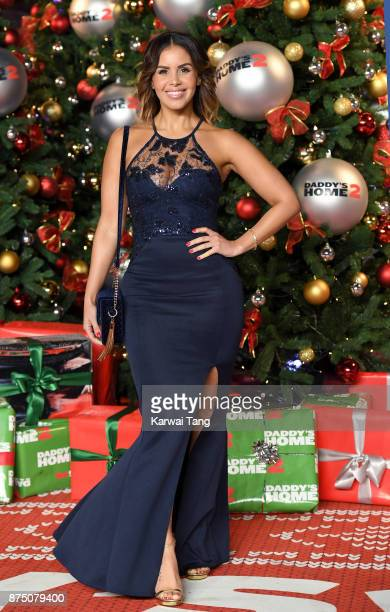 Shanie Ryan attends the UK Premiere of 'Daddy's Home 2' at Vue West End on November 16 2017 in London England