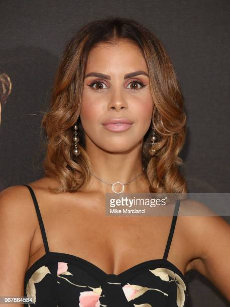 Shanie Ryan attends the UK premiere of 'The Happy Prince' at Vue West End on June 5 2018 in London England