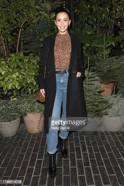 Shanie Ryan seen attending Fenty Beauty - launch party on January 14, 2020 in London, England.