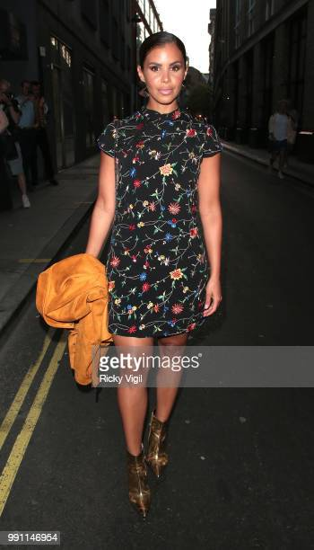 Shanie Ryan seen attending HENI Gallery x adidas #prouder private view on July 3 2018 in London England