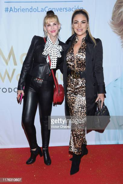 Shanik Berman and Magaly Chavez attend the Todo Para La Mujer 30th Anniversary Red Carpet at Live Aqua hotel on October 16 2019 in Mexico City Mexico