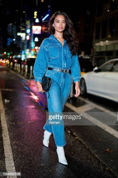 Shanina Shaik attends fittings for the 2018 Victoria's Secret Fashion Show in Midtown on November 6 2018 in New York City