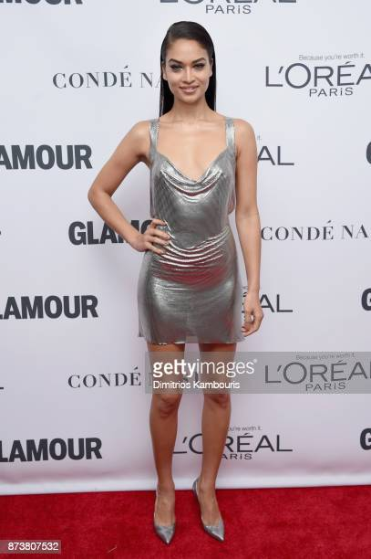 Shanina Shaik attends Glamour's 2017 Women of The Year Awards at Kings Theatre on November 13, 2017 in Brooklyn, New York.