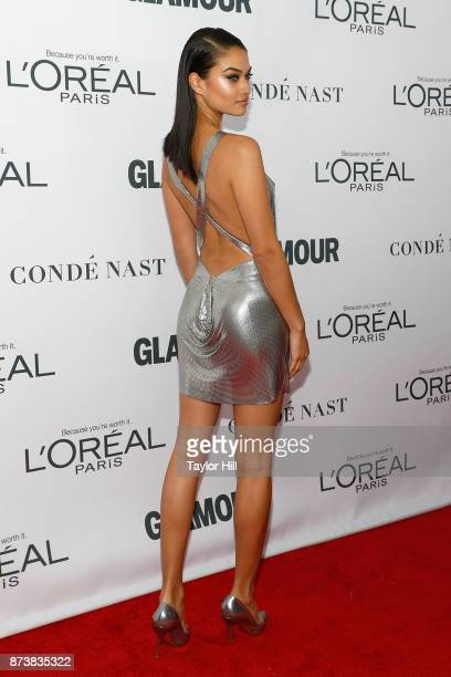 Shanina Shaik attends the 2017 Glamour Women Of The Year Awards at Kings Theatre on November 13 2017 in New York City