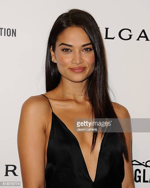 Shanina Shaik attends the 24th annual Elton John AIDS Foundation's Oscar viewing party on February 28 2016 in West Hollywood California