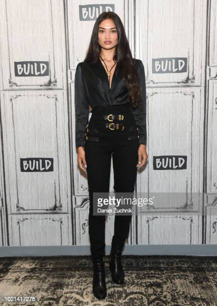 Shanina Shaik attends the Build Series to discuss the E tv show 'Model Squad' at Build Studio on August 22 2018 in New York City