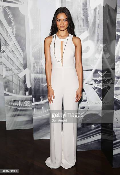 Shanina Shaik attends the launch of a new watch collection from Tiffany and Co at Rockpool restaurant on April 7 2015 in Sydney Australia