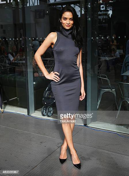 Shanina Shaik attends the Maticevski show during MercedesBenz Fashion Week Australia 2014 at Carriageworks on April 8 2014 in Sydney Australia
