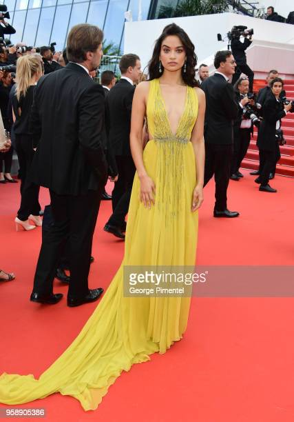 Shanina Shaik attends the screening of Solo A Star Wars Story during the 71st annual Cannes Film Festival at Palais des Festivals on May 15 2018 in...