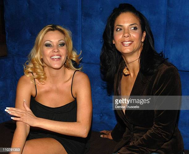 Shanna Moakler and Amy Hunter during Shanna Moakler's Divorce Party at LIGHT Nightclub at The Bellagio Hotel and Casino Resort at LIGHT Nightclub at...
