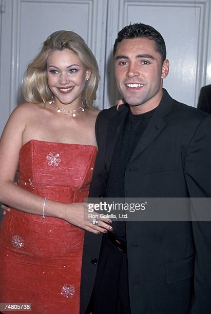 Shanna Moakler and Oscar de la Hoya at the Mann's Festival Theater in Westwood California