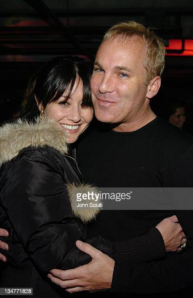 Shannen Doherty and David Pinsky during 2005 Park City Motorola Late Night Lounge Sponsored by Motorola and Splinter Cell Chaos Theory at Motorola...