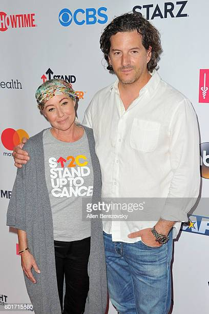 Shannen Doherty and Kurt Iswarienko arrive at the Hollywood Unites for the 5th Biennial Stand up to Cancer A Program Of The Entertainment Industry...
