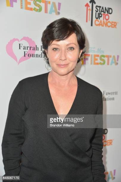 Shannen Doherty at the Farrah Fawcett Foundation's TexMex Fiesta 2017 at Wallis Annenberg Center for the Performing Arts on September 9 2017 in Los...