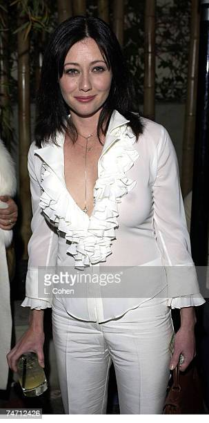 Shannen Doherty at the Koi Restraurant in Los Angeles California