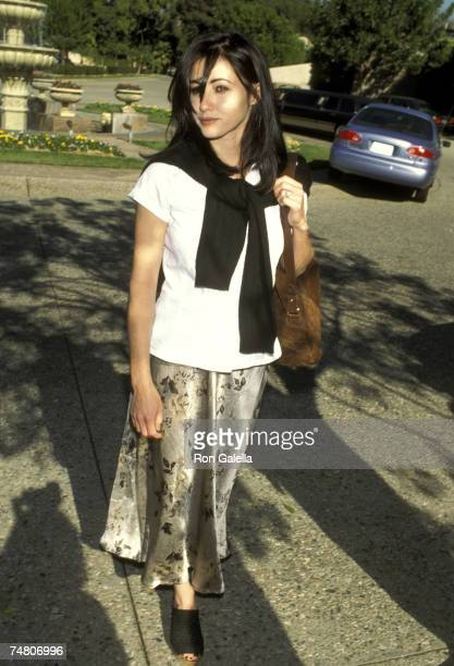 Shannen Doherty at the Ritz Carlton Hotel in Pasadena California