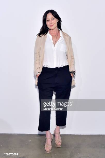 Shannen Doherty attends COS and Margaret Qualley celebrate LA Dance Project's LA Dances at LA Dance Project on September 21 2019 in Los Angeles...