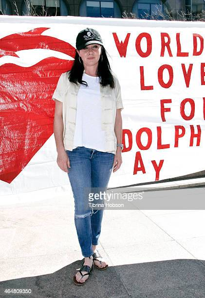Shannen Doherty attends Shepherd Conservation Society's 2nd annual 'World Love For Dolphins Day' at Japanese Consulate on February 13 2015 in Los...