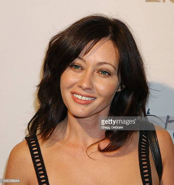 Shannen Doherty during Celebrities Bare Legs For Dewar's Dressed To Kilt Charity Event Arrivals at Wiltern Theatre in Los Angeles California United...
