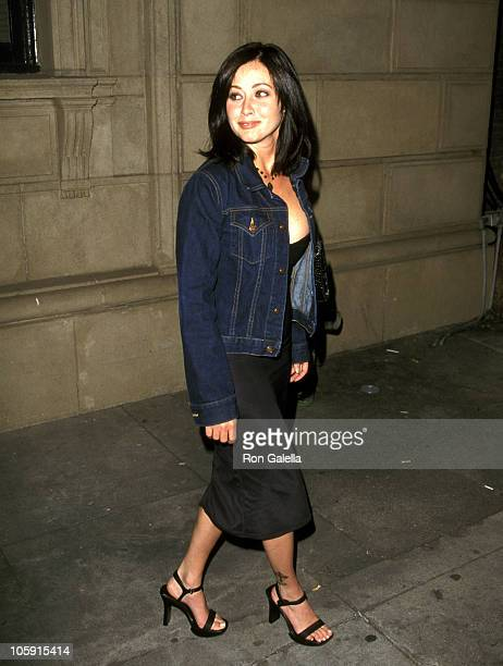 Shannen Doherty during Maxim Magazine's 'Circus Maximus' Party at The Swimming Pool in Hollywood California United States