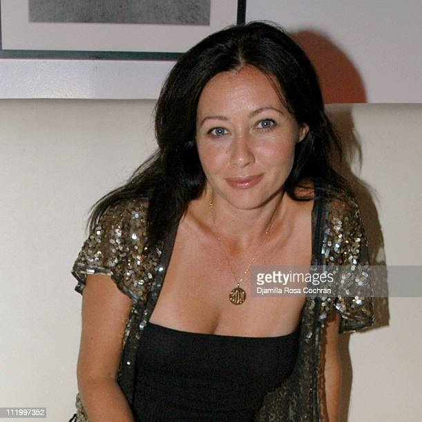 Shannen Doherty during VH1 Save The Music After Party at Resort at Resort in East Hampton New York United States