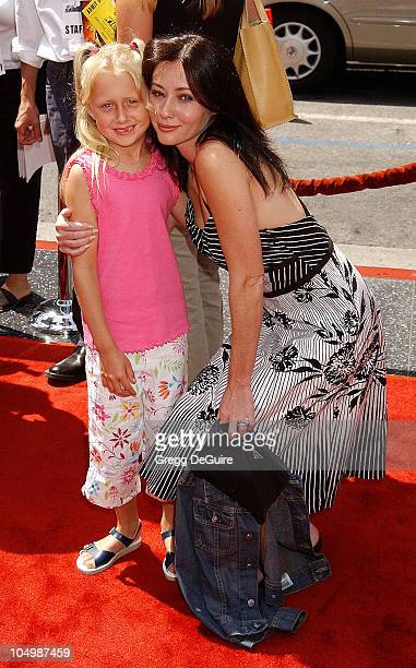 Shannen Doherty goddaughter Cooper Smith during 'Spy Kids 2 The Island Of Lost Dreams' Premiere at Grauman's Chinese Theatre in Hollywood California...
