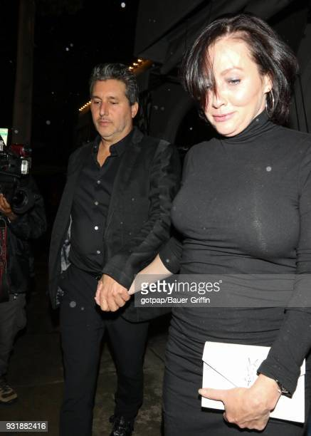 Shannen Doherty is seen on March 13 2018 in Los Angeles California